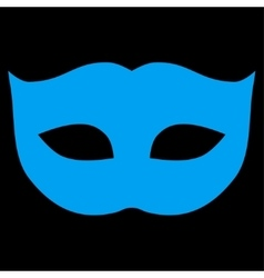 Privacy Mask flat blue color icon vector image vector image
