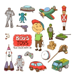 toys for boy vector image