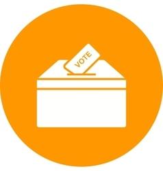 Casting Vote vector image