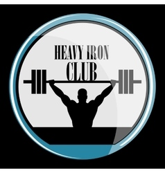 Weightlifting and fitness vector