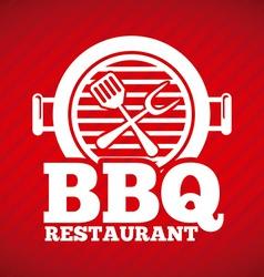 Barbecue restaurant vector