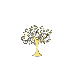 Maple tree computer symbol vector