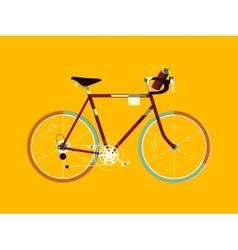 Sport bicycle cartoon vector