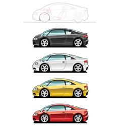 Sportscar vector image