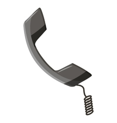 Handset icon cartoon style vector image