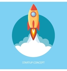 Project start up and development process vector