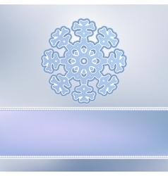 Abstract christmas background snowflakes eps8 vector