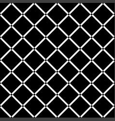black diamond square on white background seamless vector image