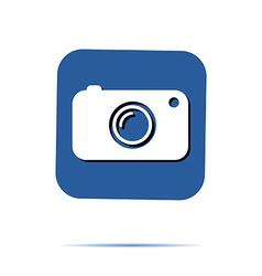 Hipster camera photo instagram digital label vector