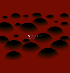 sphered abstract background vector image vector image