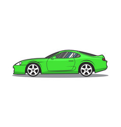 Supra 1 green vector