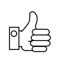 Hand finger gesture vector