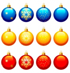 Christmas ornament vector