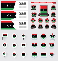 Set libya vector