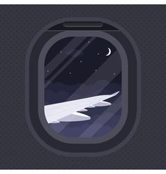plane illuminator vector image