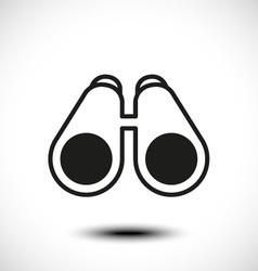 Telescope icon vector image
