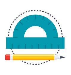 Geometry icon vector