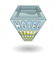hotel illustration vector image
