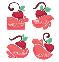 Cherry berry vector