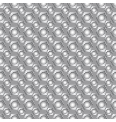 Seamless carbon pattern vector image