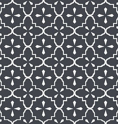 Seamless vintage doily pattern 2 vector