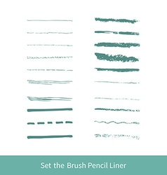 Set of grunge brushes vector