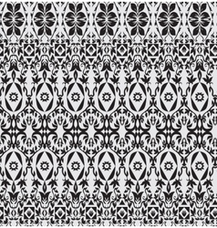 Abstract seamless pattern floral style vector