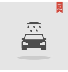 Car wash web icon vector