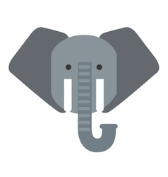 Cute elephant isolated icon design vector