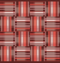 Abstract geometric red seamless pattern square vector