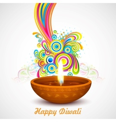 Colorful diwali vector