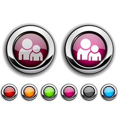 Forum button vector