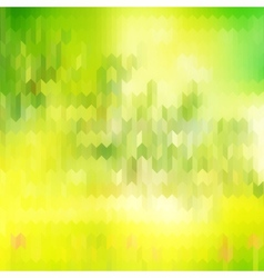 Green blurred background and sunlight eps 10 vector