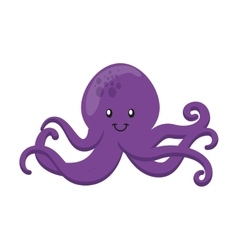 Octopus icon sea life design graphic vector
