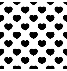 seamless pattern heart vector image