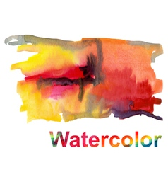 Watercolor 4 vector