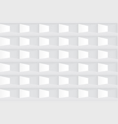 white texture seamless tile geometric pattern vector image