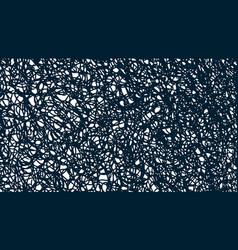 Irregular random unusual curves wrapping twisted vector