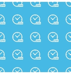 24h workhours straight pattern vector