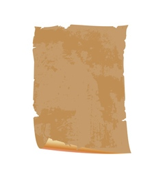 Paper old scroll vector