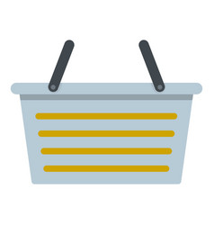 Flasket for dirty washing icon isolated vector