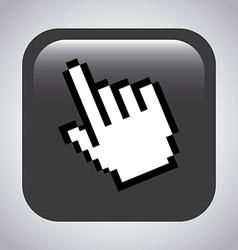 pointer design vector image