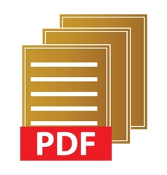 Pdf download icon vector