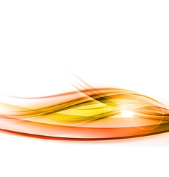 background red wave vhite horizontal vector image vector image