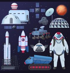 Different spacecraft vector