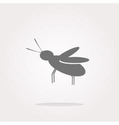 Mosquito Icon Mosquito Icon Eps10 Mosquito Icon vector image
