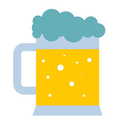 Mug of beer icon isolated vector