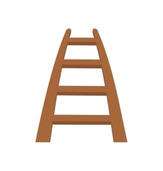 Stairs steps wood climbing icon graphic vector