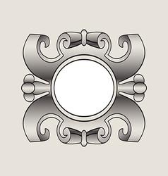 vintage border frame labels design element page vector image