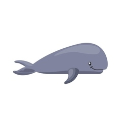 Whale icon sea life design graphic vector